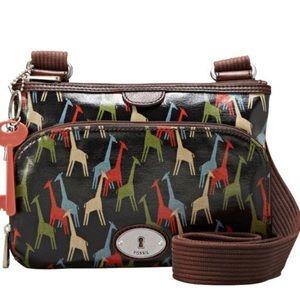 Giraffe crossbody bag